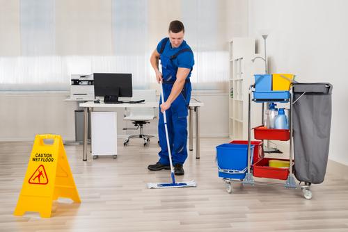 pulizia ufficio pavimenti